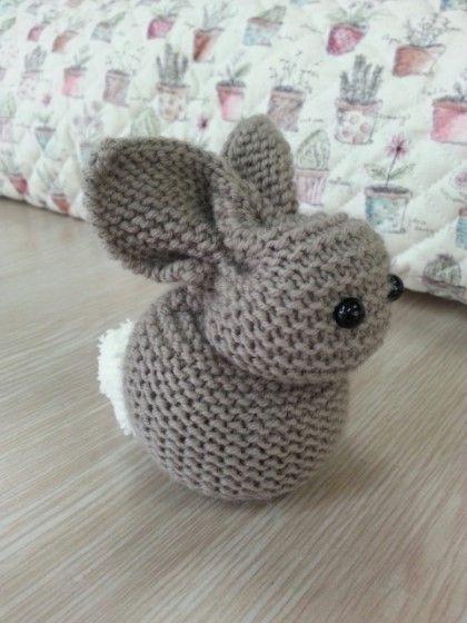 가터뜨기 간단 토끼인형