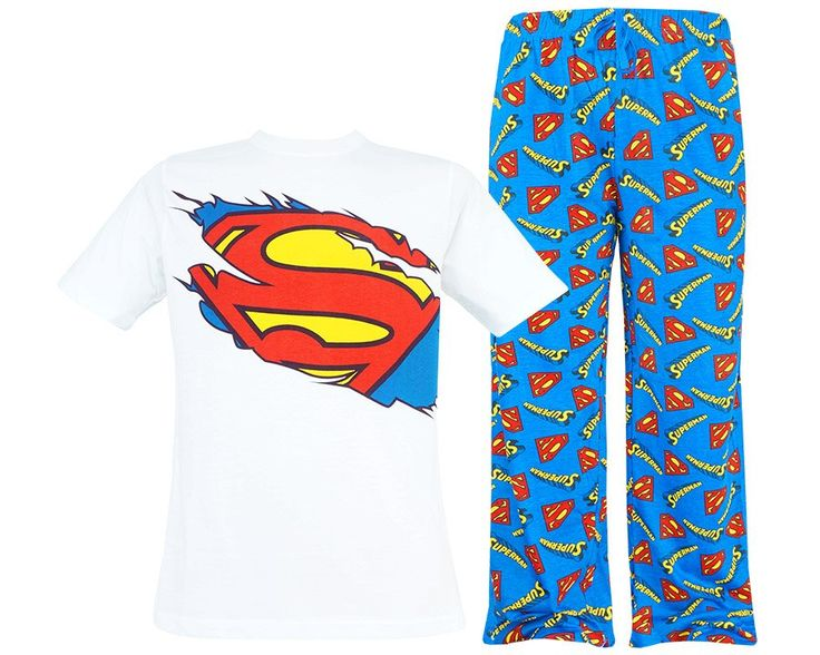 "Męska piżama Superman ""Superhero"" L"
