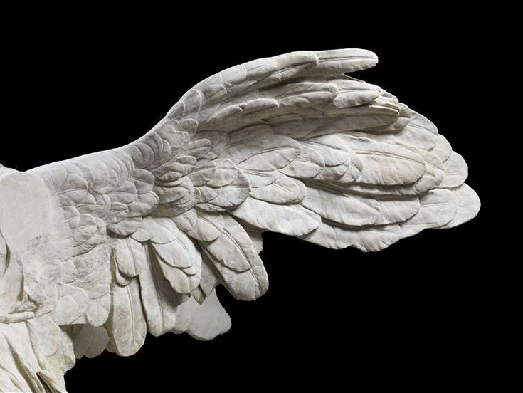 Nike - -The Winged Victory of Samothrace (detail)