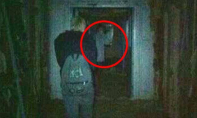Decorator catches ghost on camera while exploring haunted hospital #DailyMail