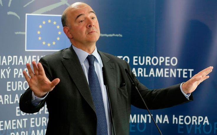 Μοσκοβισί : Δεν εξετάζεται ούτε θεωρητικά το Grexit
