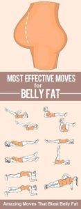 Most effective ways for loosing belly fat