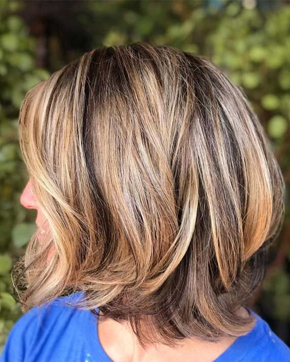 Trendy Low Maintenance Haircuts And Hairstyles For Any Length Low Maintenance Haircut Thick Hair Styles Haircuts For Medium Hair
