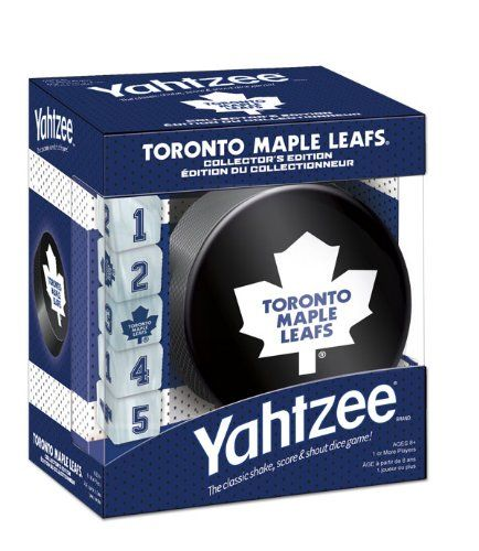 Toronto Maple Leafs Yahtzee