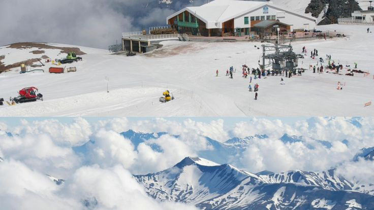 Arriva l'estate ma noi abbiamo sempre voglia di sciare!!!#les2alpes ❄️😄#scuolascicortina