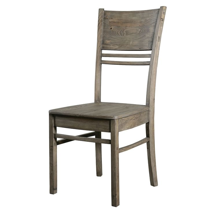 Farmhouse Dining Chair | High Back Wooden Dining Chairs | Zin Home