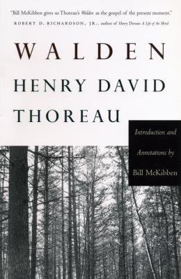 By virtue of its casual, off-handedly brilliant wisdom and the easy splendor of its nature writing, Thoreau's account of his two year adventure in self-reliance amidst woodland in a cabin he built near Walden Pond near Concord, Massachusetts is one of the signposts by which the modern mind has located itself in an increasingly bewildering world.