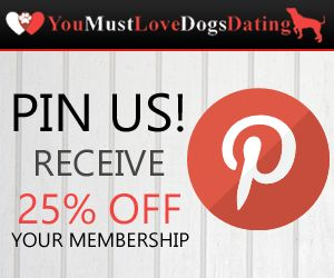 Repin us to receive 25% off your membership at  www.youmustlovedogsdating.com! Date IdeasDog LoversDatingRelationshipsDates