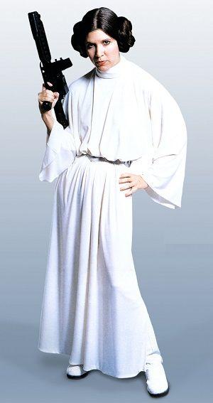 star wars princesa leia 2 Star Wars VII Star Wars J.J. Abrams  Por que existem poucas personagens femininas em Star Wars?
