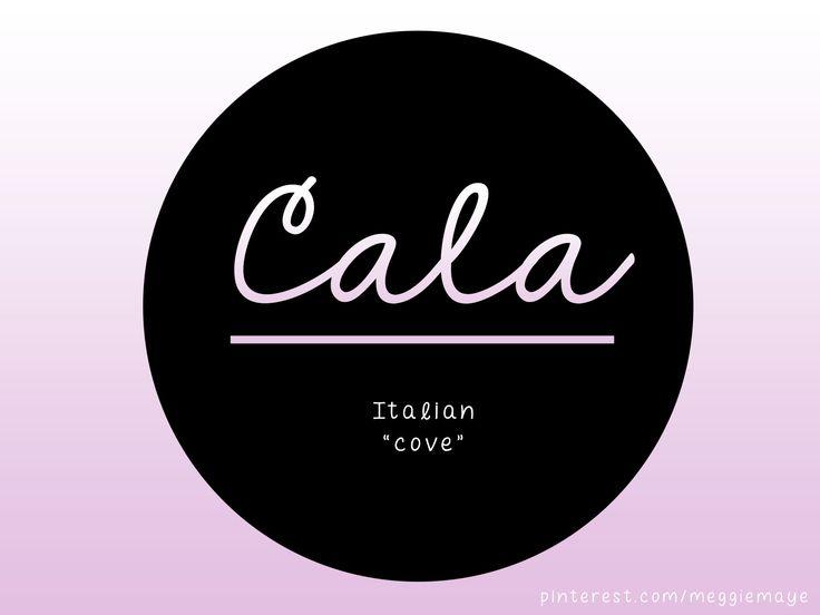 Sweetie Name Cala 66