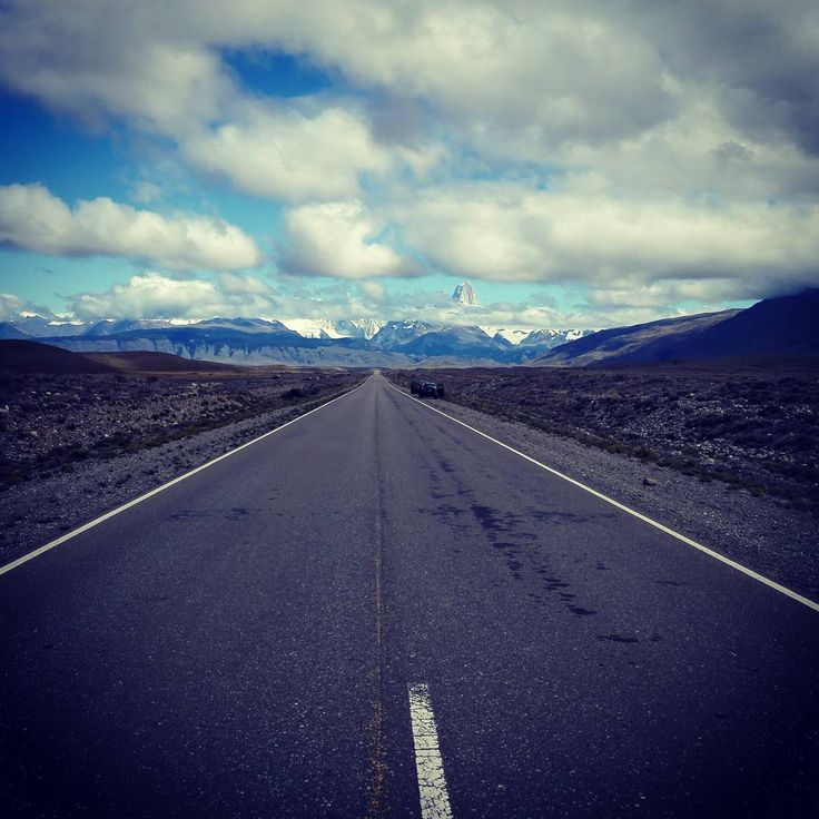 On the way to Fitz Roy.  #hasajacezajace #travel #trip #travelmore #instatravel #travelling #adventure #outdoor #outdoorliving #outdoorcouple #mountains #neverstopexploring  #road #fitzroy #argentina #patagonia #skyporn #sky #clouds #cloudporn love