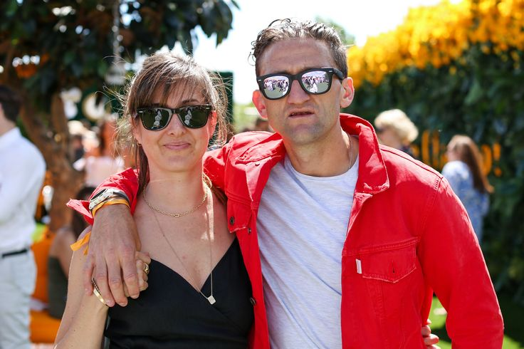 Candice Pool and Casey Neistat