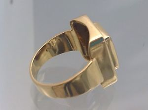 Anello Oro 18Kt 750/1000 Con Quarzo Azzuro   eBay
