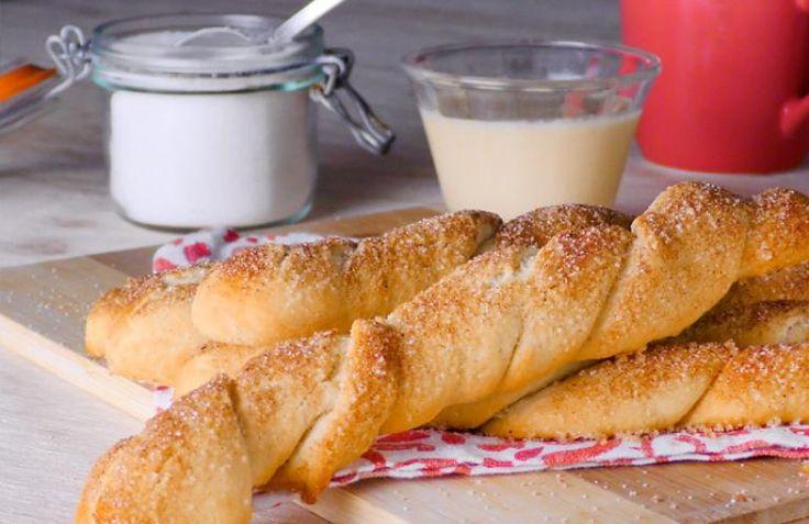 Palitos de pan con canela