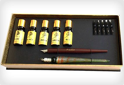 Daveliou Calligraphy Pen Set – 12-Piece Kit