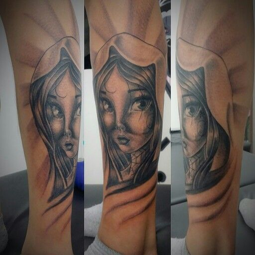 Costum manga Virgin tattoo by danny (HighLife Tattoos ECU )