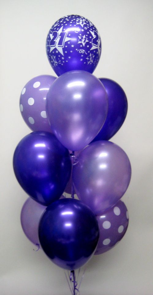 10 Latex Balloon Bouquet. Please call our store on 9979 6207 for details