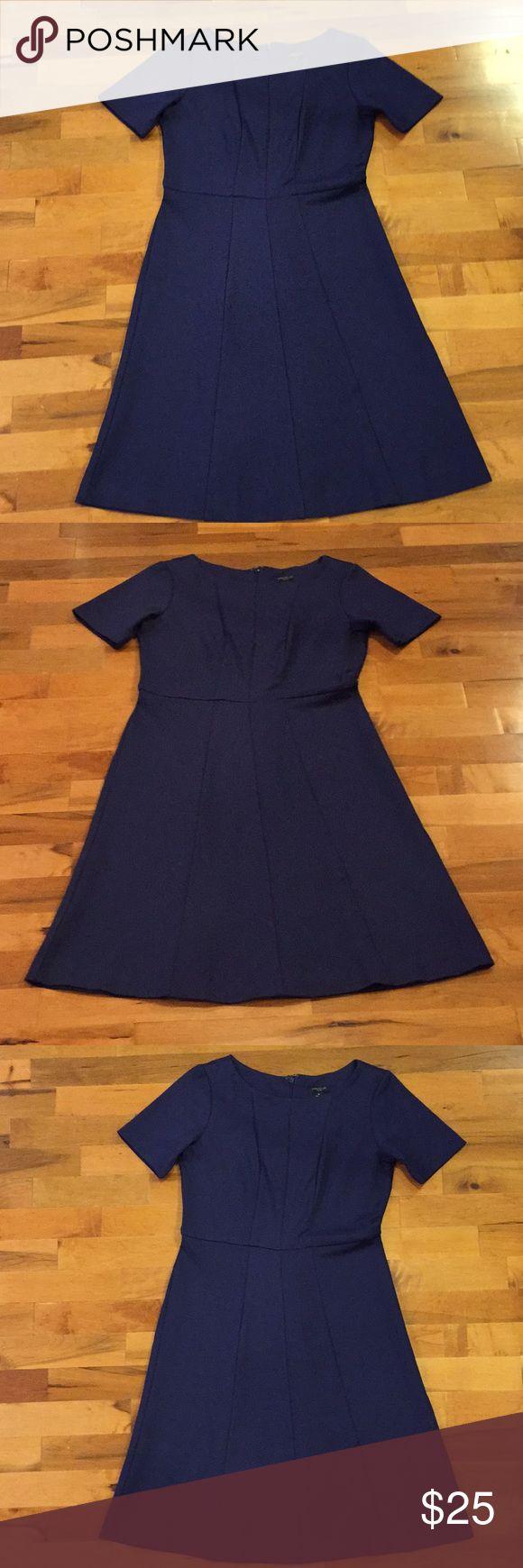 Ann Taylor Dress Navy Petite Dress Ann Taylor Dresses