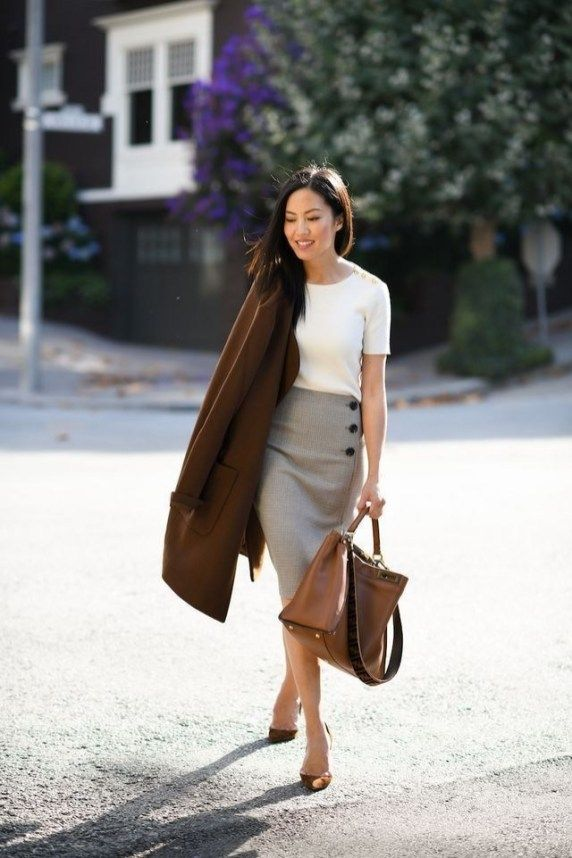 Best Work Outfits With Accent Glamorous 35