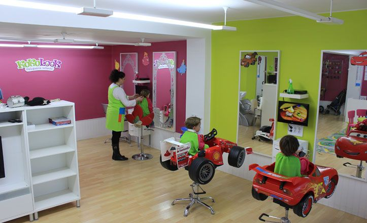 Image result for diseño interior peluqueria infantil