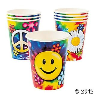 '60s Groovy Cups, Party Cups, Tableware, Party Themes & Events - Oriental Trading