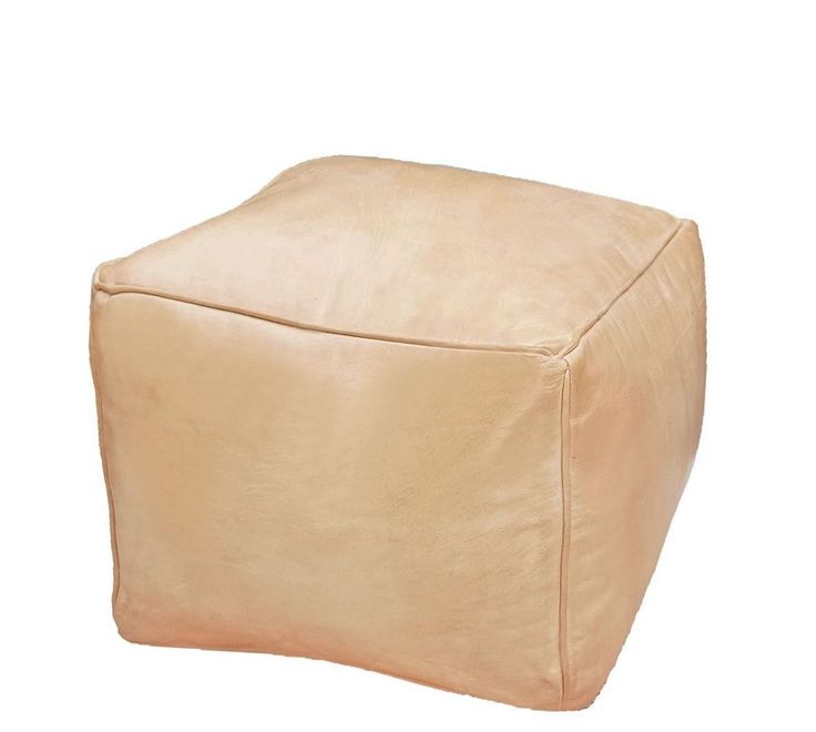 MOROCCAN GENUINE LEATHER POUF. CUBE OTTOMAN. of moroccan tradition for every contemporary interior . used for low-seating arrangements around a table or a living room set. or at any place in your home. | eBay!