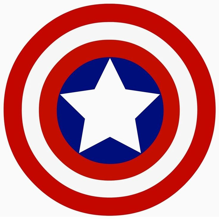 Captain America Logo Widescreen Hd Wallpaper