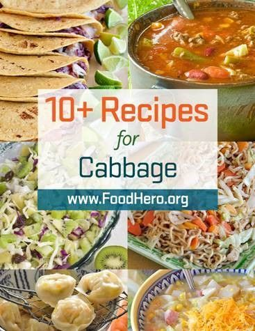 different ways to cook with cabbage food hero cabbage recipes food hero healthy recipes that are fast fun and keto suppers pinte