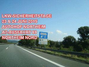 LKW-Sicherheitstage auf dem Autohof Northeim