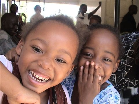 Why are these girls so happy? They have HOPE! Flax Hull Lignans reduce viral loads and improve CD-4 counts (the measurement of immunity in the blood) in 97% of people! Some kids even test HIV- after being on this inexpensive supplement for extended times. AIDSHIVAWARENESS.org