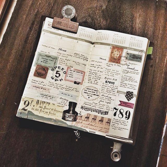 Art journal / travel journal / diary.