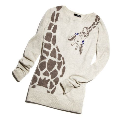 Love this giraffe sweater