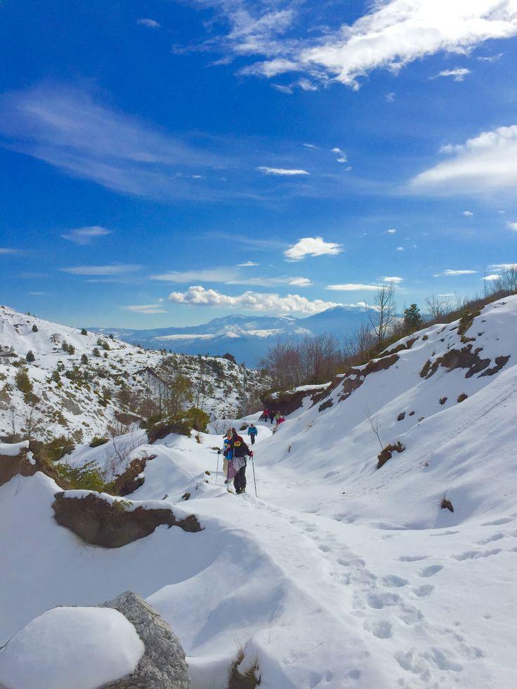 Verso Monte Zaccana...Castelluccio Superiore (PZ)