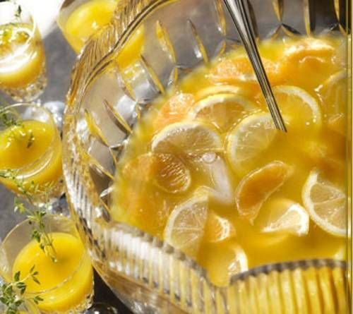 Новогодний пунш с мандаринами – рецепт с фото