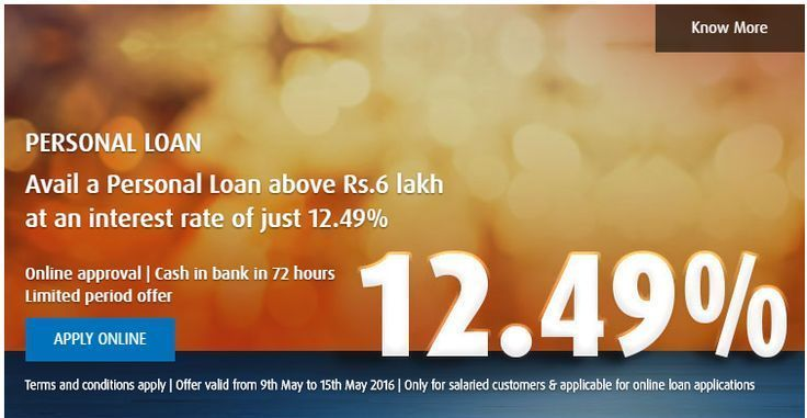 Grab The Opportunity To Apply For A Personal Loan At 12 49 Only Apply Online F Personal Loans Personal Loans Online How To Apply