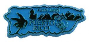 Puerto Rico Magnet  www.internationalgiftitems.com/statemagnets/puertorico