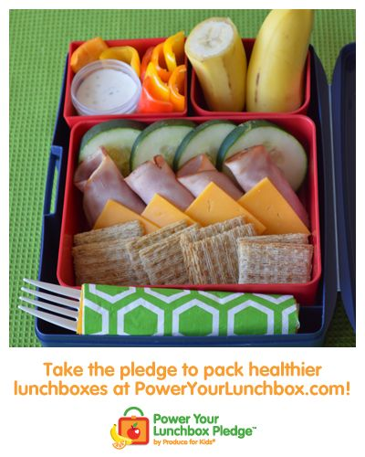 Easy Lunch Stackers Bento Box #poweryourlunchbox #backtoschool #bento