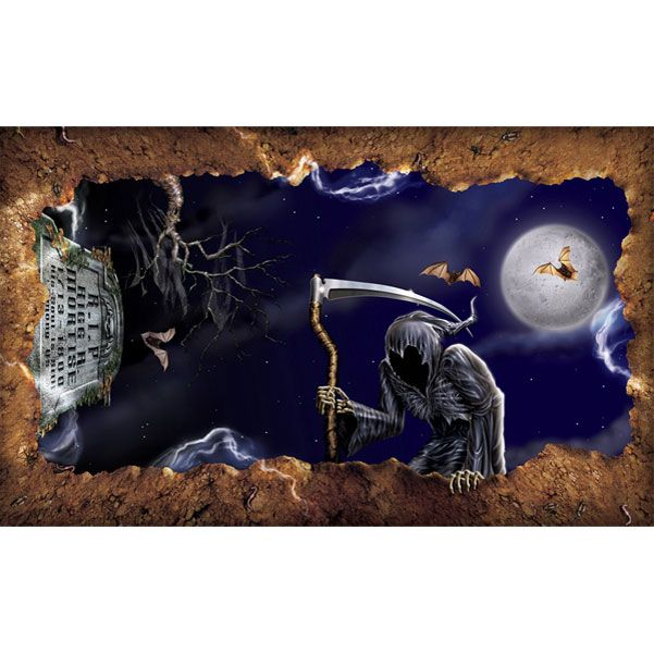 halloween scene setters open grave instant view 152m 699 each