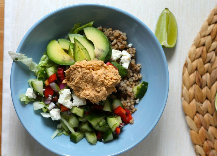meze bowl // the muffin myth