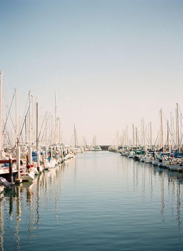 Santa Barbara harbor.