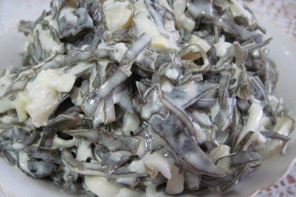 Салат с морской капустой и майонезом рецепт – салаты. «Афиша-Еда»