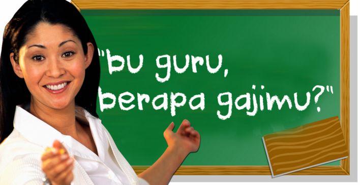 Gaji Guru Indonesia 'Paling Kecil' di Antara Negara Asia? Miris! - Dibandingkan dengan gaji guru di negara-negara tetangga di Asia Tenggara, kita masih...