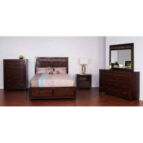 Sunny Designs 2379WT Rock Ridge Bedroom Set (available At American Furniture  Galleries In 2 Colors