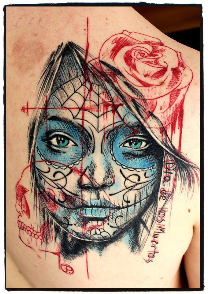 Tattoo by Jacob Pedersen - Crooked Moon Tattoo, Sweden