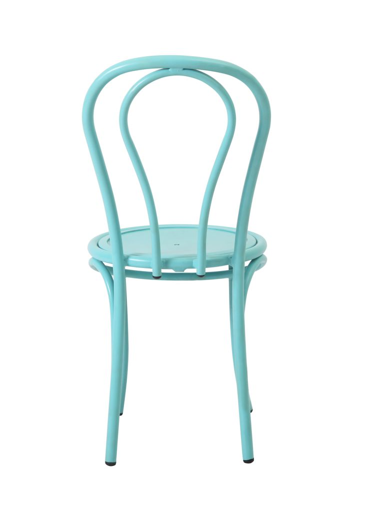 Such perfect lines!  And don't even get us started on that colour... Aqua is calming  tranquil, but mixed with bright yellow's, oranges and reds it will enliven your garden space like never before!!!  Grab our new Outdoor Bentwood chairs today for the most perfect outdoor table setting you will ever see...