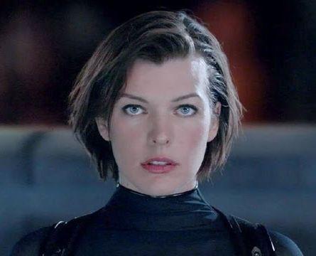 Milla Jovovich Short Hairstyles on Resident Evil Retribution