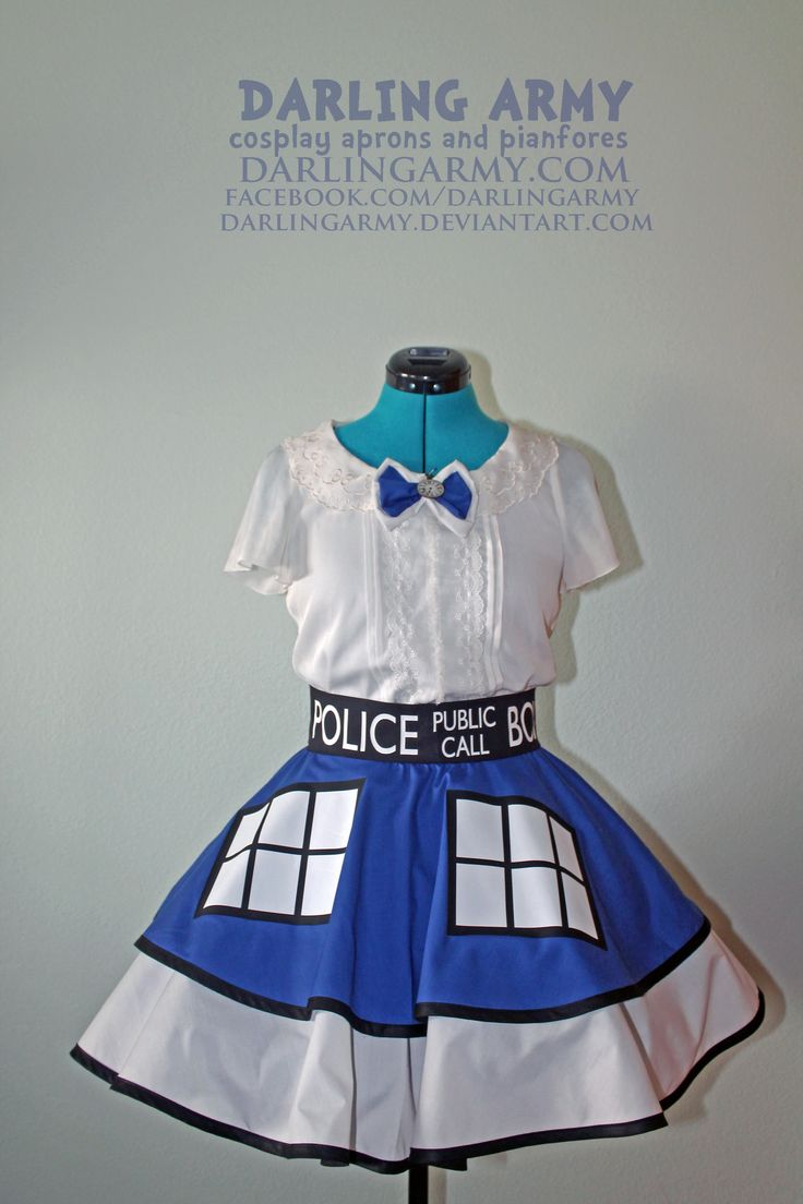 White apron doctors - Doctor Who Inspired Dresses Femme Cosplay Costume Aprons Pinafores And Accessories Specializes In Anime Gaming And Other Nerd Inspired Designs