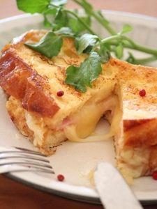 ハム&チーズフレンチトースト。 by 栁川かおり   レシピサイト「Nadia   ナディア」プロの料理を無料で検索