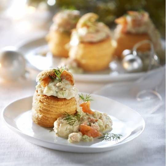 Recept - Pasteitje met zalm en garnalen - Boodschappenmagazine #voorgerecht