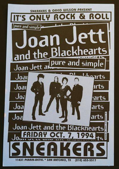 Image result for joan jett vintage concert poster
